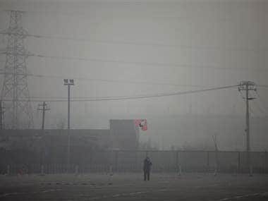 Pollution in Beijing. AP