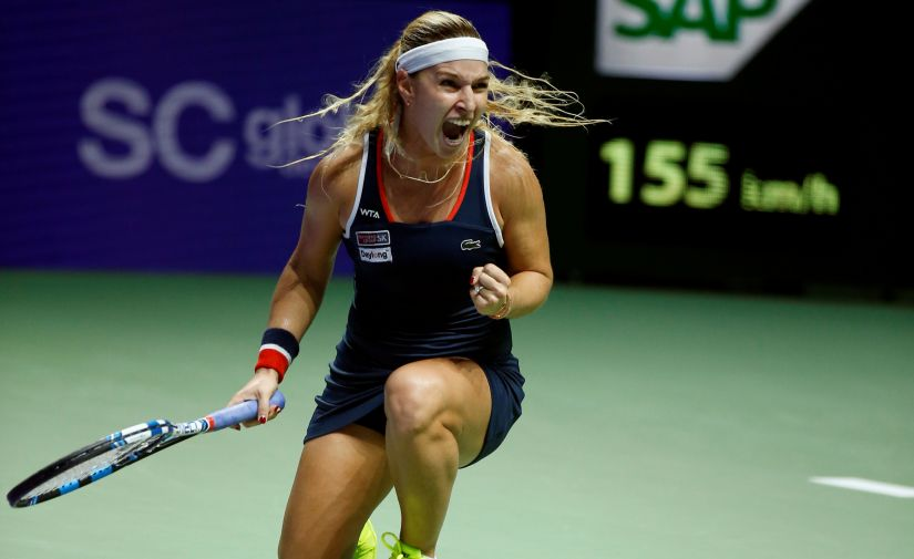 Dominika Cibulkova a serious contender at Melbourne Park, despite rocky preparations when she was bundled out in both Brisbane and Sydney in round two. Reuters