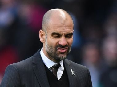 Manchester City manager Pep Guardiola. Reuters