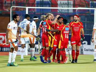 Hockey India League 2017: Rampant Ranchi Rays trounce leaders Kalinga Lancers 7-2