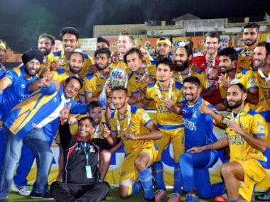 Jaypee Punjab Warriors were crowned champions in the last edition of the HIL. PTI