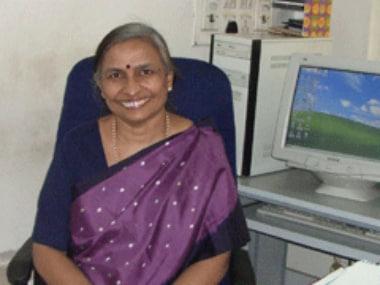 HS Savithri of IISC. Image Courtesy: IISC website