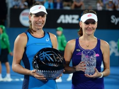 Sydney International: Johanna Konta wins 2nd title; Gilles Muller to face Dan Evans in final
