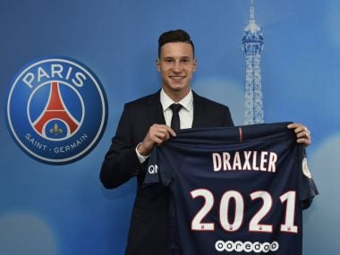 PSG sign  Julian Draxler. Twitter@PSG_Inside