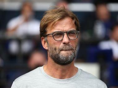 File image of Liverpool manager Jurgen Klopp. AFP