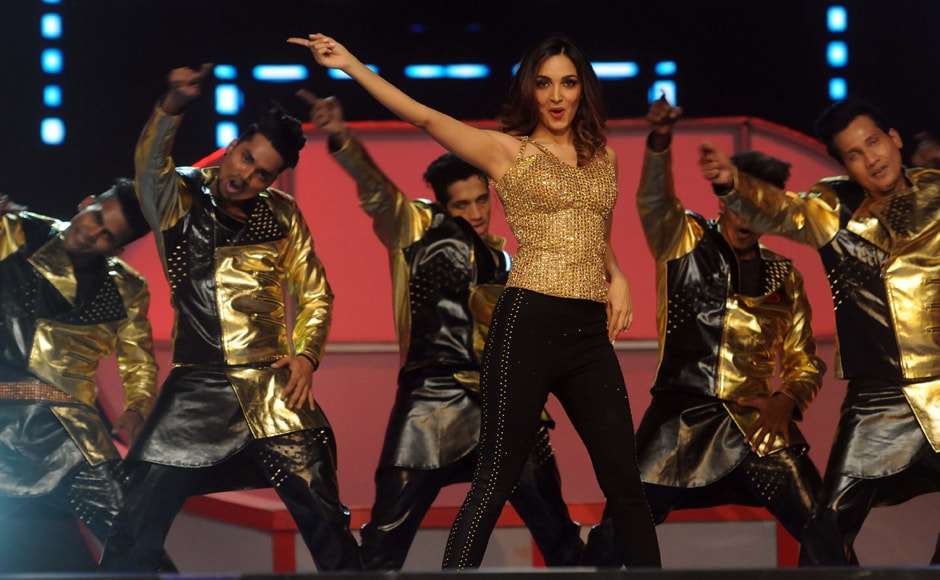 Kiara Advani was among the actors who performed at Umang. Photo: Sachin Gokhale/Firstpost