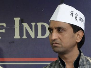 File image of AAP leader Kumar Vishwas. AFP