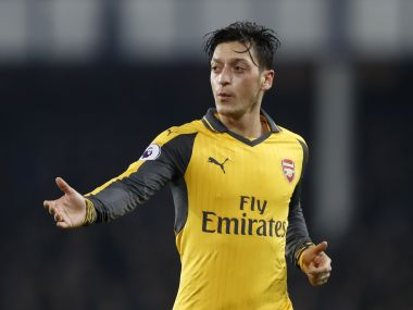 Arsenal's Mesut Ozil. Reuters