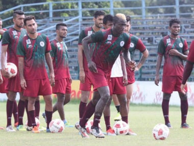 Mohun Bagan will play against Sri Lanka's Colombo FC i the second leg. Image courtesy: Mohun Bagan via Facebook