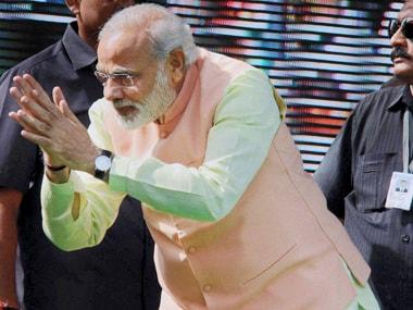 A file image of Narendra Modi. PTI
