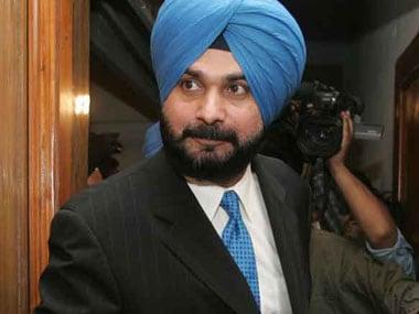 File image of Navjot Singh Sidhu. PTI