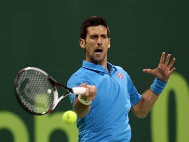 File picture of Novak Djokovic. AFP
