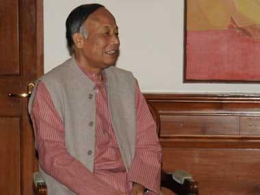 File image of Okram Ibobi Singh. PIB
