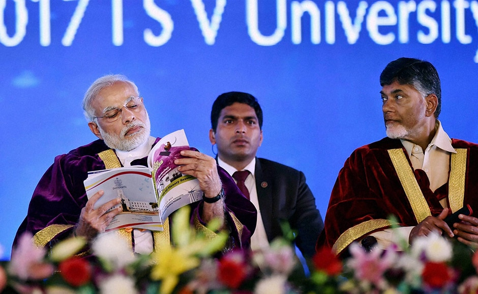 Prime Minister Narendra Modi advocated scientific social responsibility (SSR) for leading scientific institutions on the lines of Corporate Social Responsibility (CSR). PTI