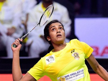 File image of Chennai Smashers player PV Sindhu. PTI