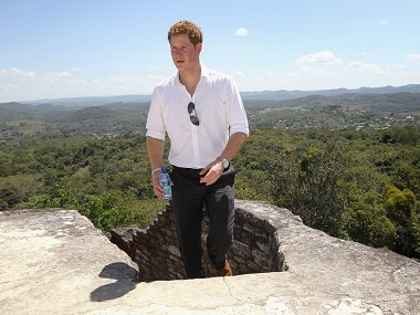 Prince Harry. Getty Images