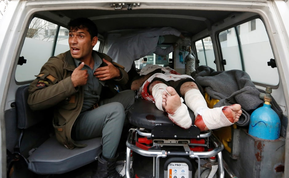 The explosion reportedly happened close to the American University and Noor hospital on Darulaman Road. Reuters