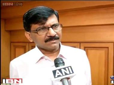 Shiv Sena leader Sanjay Raut. IBNLive