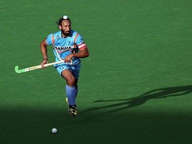 Sardar Singh of India. Getty