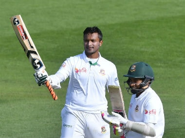 New Zealand vs Bangladesh: Shakib Al Hasan, Mushfiqur Rahim break records, torment Black Caps on Day 2