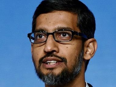 "New Delhi: Google CEO Sundar Pichai speaks during a program to announce ""Digital Unlocked"" skill program, in New Delhi on Wednesday. PTI Photo by Manvender Vashist (PTI1_4_2017_000162B)"