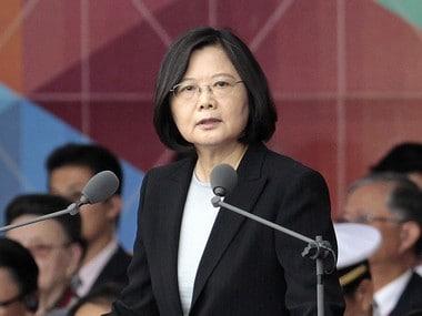 Taiwan's President Tsai Ing-wen. AP