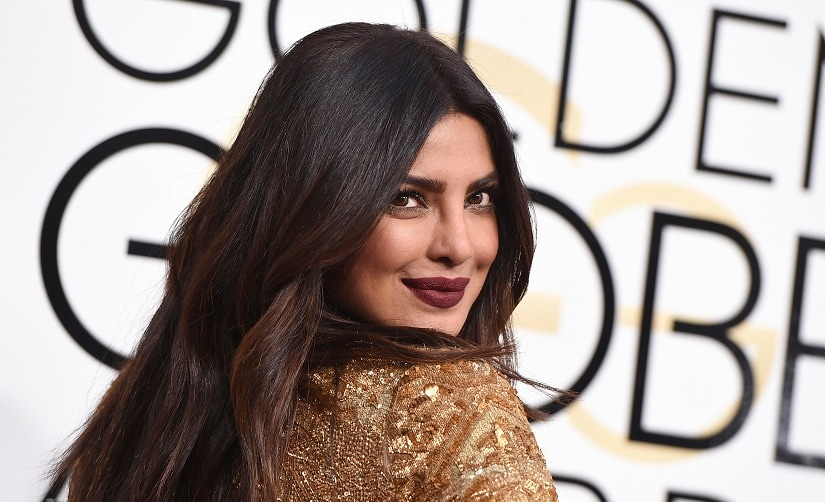 Priyanka Chopra arrives at the 74th annual Golden Globe Awards at the Beverly Hilton Hotel on Sunday, Jan. 8, 2017, in Beverly Hills, Calif. (Photo by Jordan Strauss/Invision/AP)