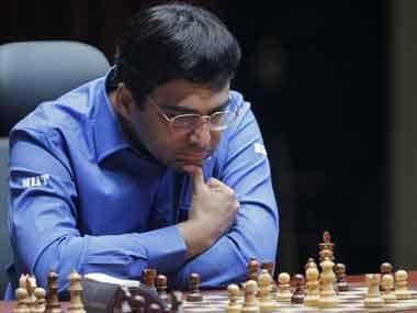 File photo of Viswanathan Anand. AP