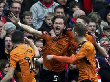 Victory gave Wolves a second Premier League scalp in this season's FA Cup after they beat Stoke City in the third round. AP