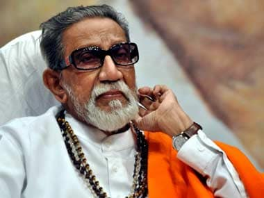 Bal Thackeray. AFP