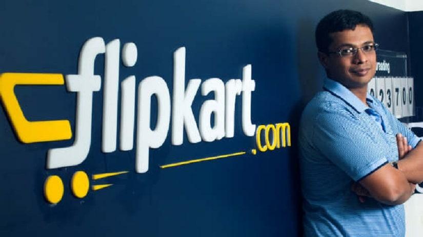 Flipkart Co-founder Sachin Bansal will continue as executive chairman. Image credit: Flipkart website