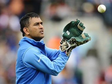 Dhoni was predictably unpredictable and this was where half the battle was won. Reuters