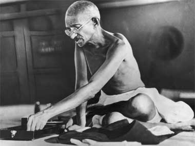 A file image of Mahatma Gandhi. Getty Images