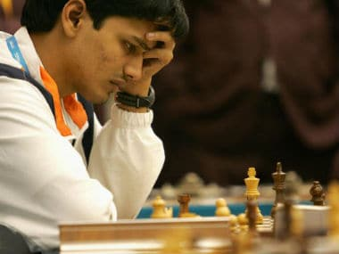 Tata Steel Chess: P Harikrishna draws against Sergey Karjakin, moves to top of the table