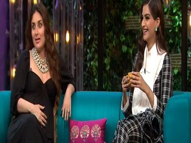 Kareena Kapoor Khan and Sonam Kapoor on Koffee with Karan Season 5. Hotstar