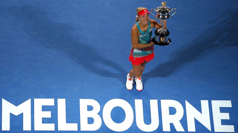 World No 1 Angelique Kerber will be looking to defend her title. AP