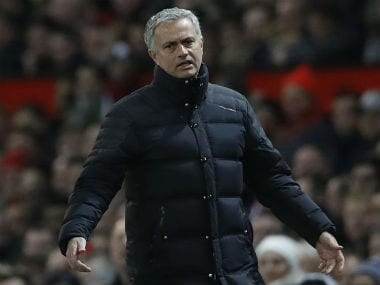 File photo of Manchester United coach Jose Mourinho. Reuters
