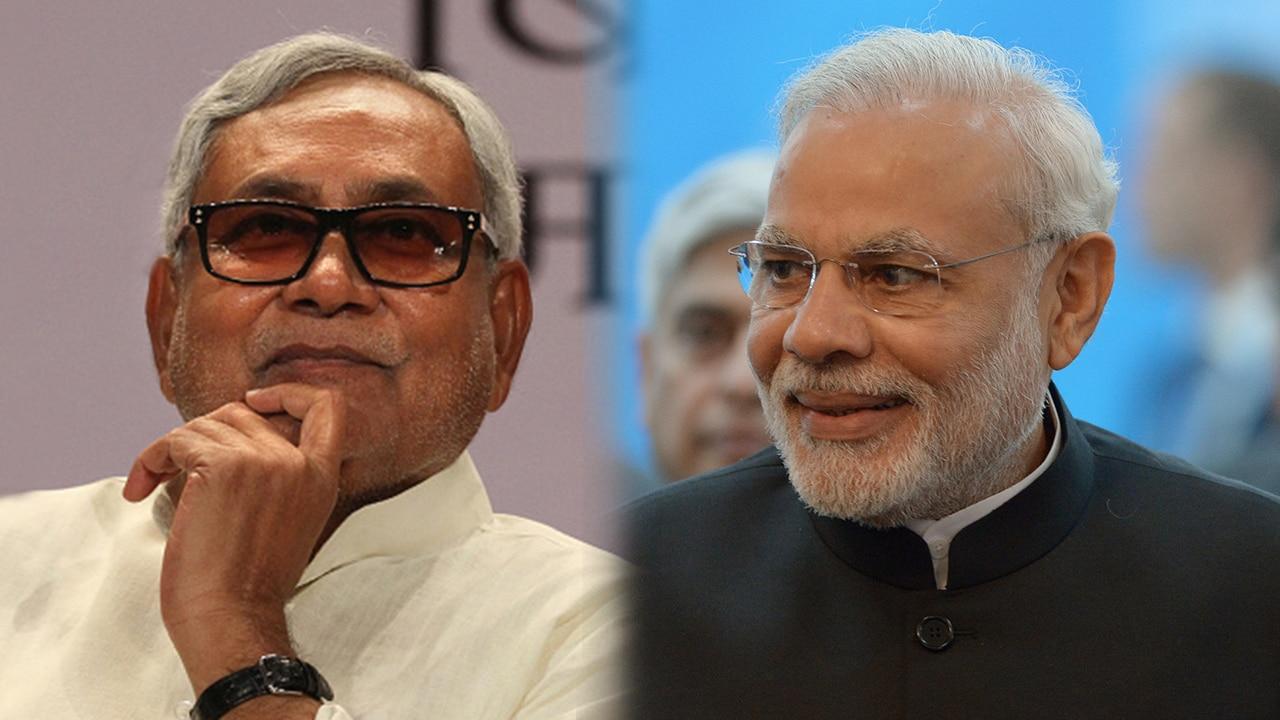 Nitish Kumar and Narendra Modi have begun exchanging pleasantries once again