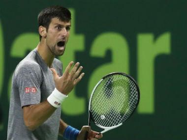 Qatar Open: Novak Djokovic admits firing ball into crowd was a mistake