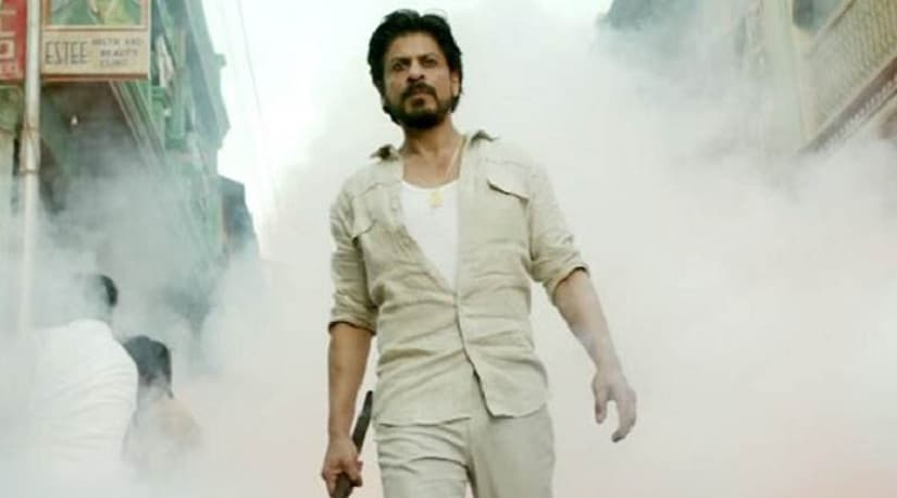 Shah Rukh Khan in an a still from Raees