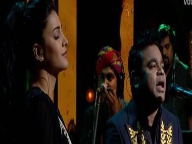 Watch: AR Rahman owns the unplugged version of Ranjha Ranjha with Shruti Haasan