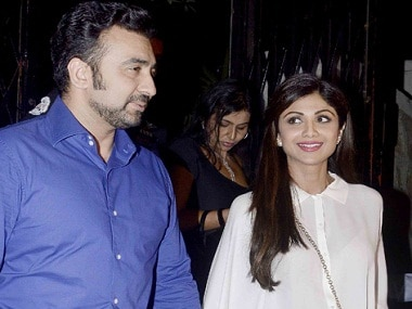 A file photo of Raj Kundra with Shilpa Shetty. News 18