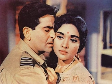 Kapoor has expressed his anger at Vyjayanthimala's denial of her relationship with Raj Kapoor. Here the actors are seen in 'Sangam'.