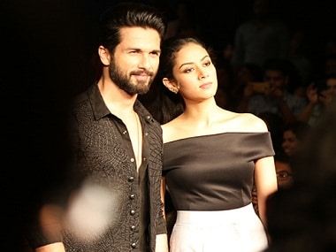 Shahid Kapoor with Mira Rajput. File photo/News 18