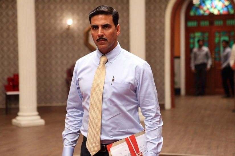 Akshay Kumar in a still from Special 26. YouTube