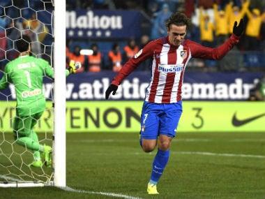 Antoine Griezmann strikes late to win 3-2 over Celta Vigo. AFP
