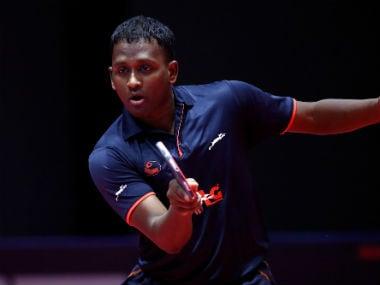 Amalraj Anthony in action. Sportzpics