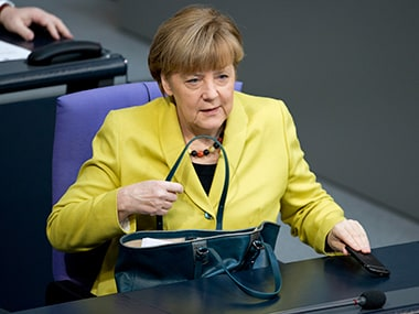 Angel Merkel. AP
