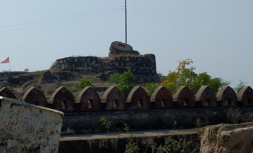 Bhuragarh Fort in Bundelkhand's Banda. Firstpost/Debobrat Ghose