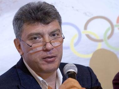 Russian opposition leader Boris Nemstov was shot dead. AP